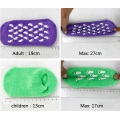 Socquettes anti-dérapantes en coton naturel