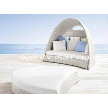 2016 Cama de sol de lujo para ratán / muebles de patio