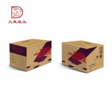 Professionnel personnalisé logo pas cher prix ondulé usine emballage boîte