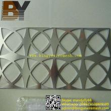 Hoja perforada de aluminio de acero inoxidable
