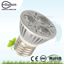 aluminio 3w alta potencia led proyector