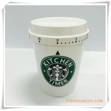 Promotion Plastic Starbuck Coffee Shape Timer (HA35005)