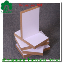 White Melamine MDF with Cheap Price