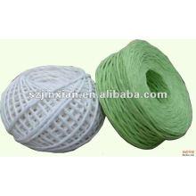 Cordón de papel verde