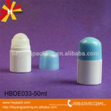 50ml plastic PP material roll on bottles