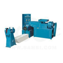 Electric Control Plastic Recycling Machine Dry Wet Plastic