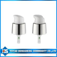 18mm Glanz Silber Metall Creme Pumpe abschließbare Gesichtsflüssigkeit Pumpe