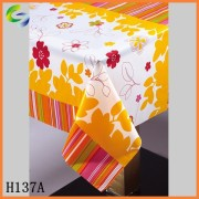 recycled plastic printed sheet tablecloth in roll