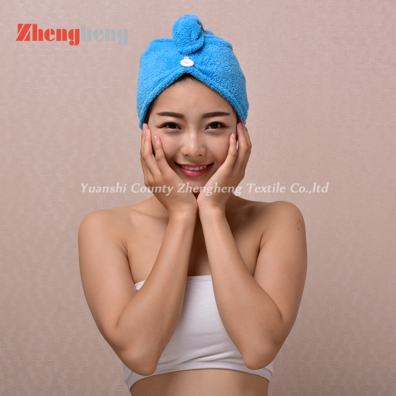 Coral Fleece Hair Cap (27)