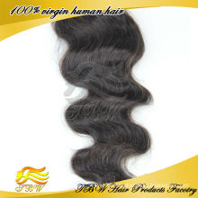 100% peruvian human hair virgin hair silk base free part closure