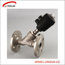 Sanitary Stainless Steel Pneumatic Control Angle Seat Valve