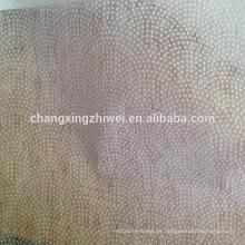 fusionando el entrelazado no tejido para cualquier tipo de tela