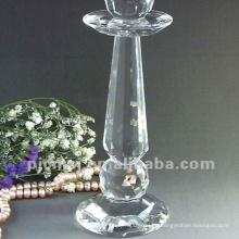 Candeleros de cristal altos de la boda de calidad superior promocional