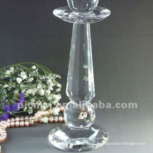 Promotional top quality wedding tall glass candle holders