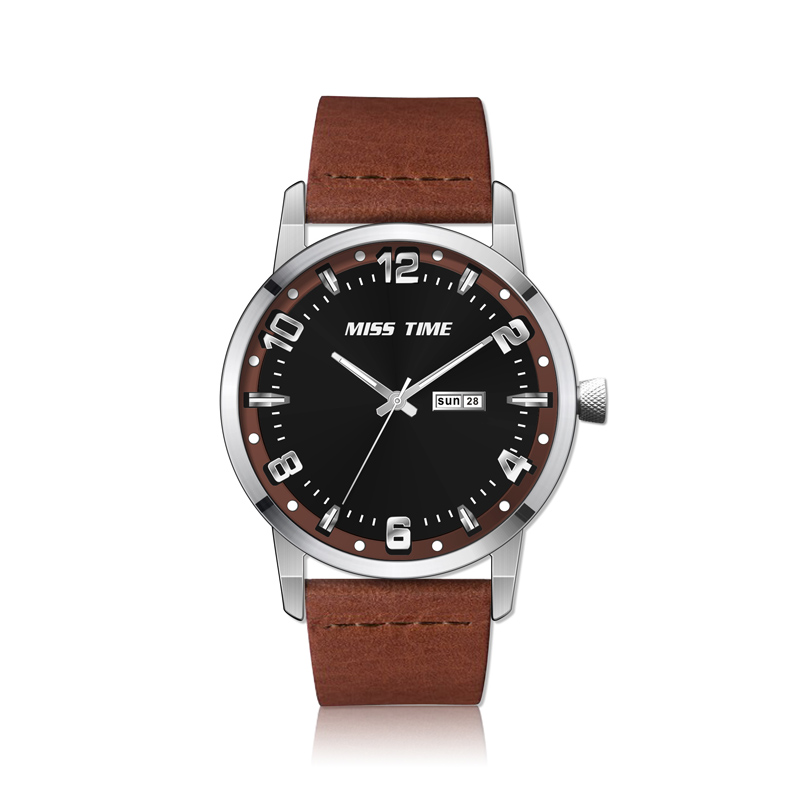 wholesale faces leather strap mvmt 3atm water resistant watch