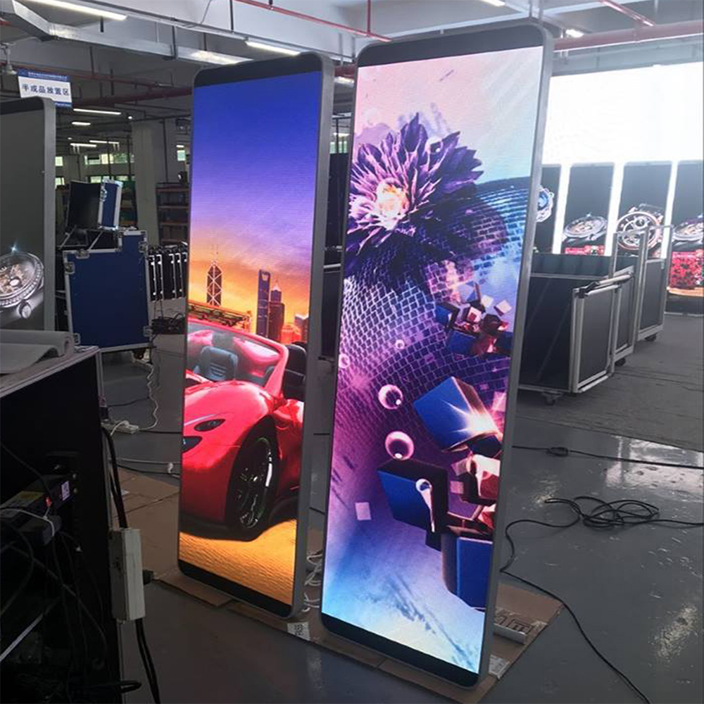 2018 Hd Poster Led Display Stand