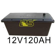 Batterie solaire 120A Batterie solaire Boîte de batterie étanche solaire étanche