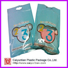 Baby Clothes Resealable Plastic Bag with Handle