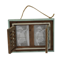 Distressed Funia Wooden Photo Frame for Home Deco