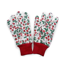 Colorful Cotton Gardenning Work Glove