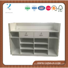 Wood Kassier Desk oder Checkout Desk