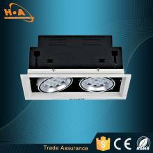 Modelo popular alta luz duas cabeça 24W diodo emissor de luz de grelha