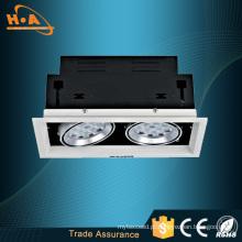 Luzes da grade do diodo emissor de luz da ESPIGA da cabeça 25wx2 de Guangzhou AC220 2