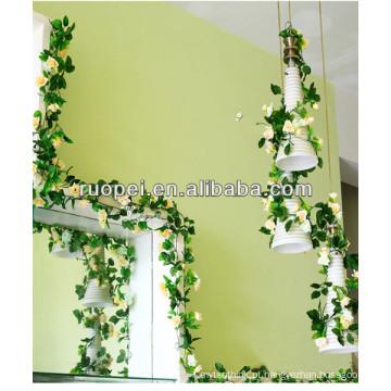 Flores artificiais de alta qualidade por atacado para casamento e decoração de casa