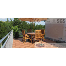 Composite Decking Tile with SGS, Fsc, CE Certificate