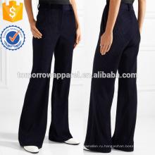 Вельветовые Расклешенные брюки Производство Оптовая продажа женской одежды (TA3028P)