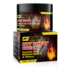 Custom Natural Workout Hot Sweat Enhancer Cream Slimming Gel for Women and Men