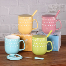 Colorful Polka Dot Coffee Mug