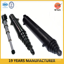 side-dumping telescopic hydraulic cylinder/heavy cylinder used for tipper trucks/hydraulic cylinders