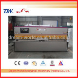2016 newest Anhui 'SLMT' QC12K-20*4000 cnc E10-S Display Unit Shearing machine