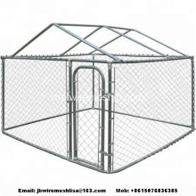 Rantai Galvanized Link Dog Kennels