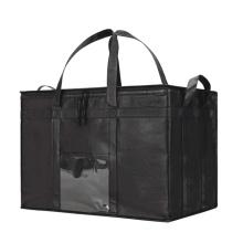 Custom Logo Grocery Bag Insulated Reusable Food Delivery Bag for Uber Eats