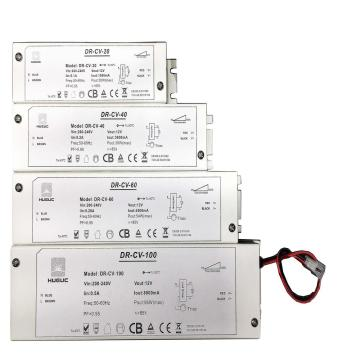 ETL boxed dimmable 12V 24V led driver