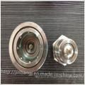 Conector pneumático macho fêmea unidirecional