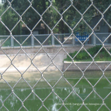 Chain Link Security Mesh Fence