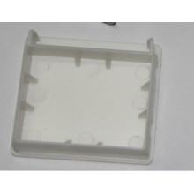 Capuchon de finition blanche 50 mm pour rail de tête de profil élevé (SGD-C-5113)
