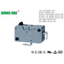 Interruptor de motor tubular Restablecimiento rápido gris