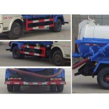 DONGFENG Duolika 5CBM Vacuum Sewage Suction Truck