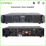 high end four channel 1600W RMS professional power amplifier