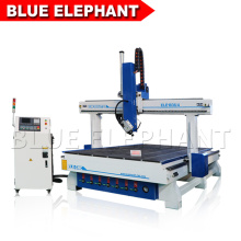 3D Wood CNC Router High Z Axis 600mm Italian Spindle Can Rotate to 180 Degree