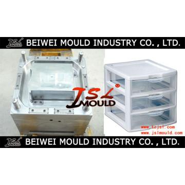 Moule en plastique adapté aux besoins du client de Cabinet de tiroir de ménage d'injection