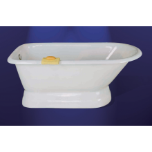 Cast Iron Bathtub With Pedestal Base