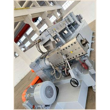 Sjz65/132 PVC Plastic Conical Twin Screw Extruder PVC Ceiling Extruder