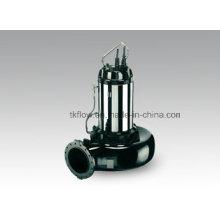 Pompe à eau d'égout submersible en acier inoxydable