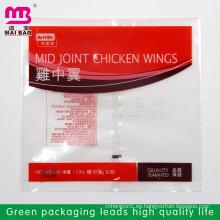 embalaje de carne encoger bolsas de plástico para alimentos congelados