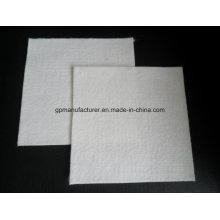 Geotextil no tejido perforado aguja corta de la fibra del poliéster usado en vertido